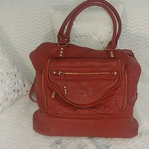 EUC Under One Sky Red SAtchel